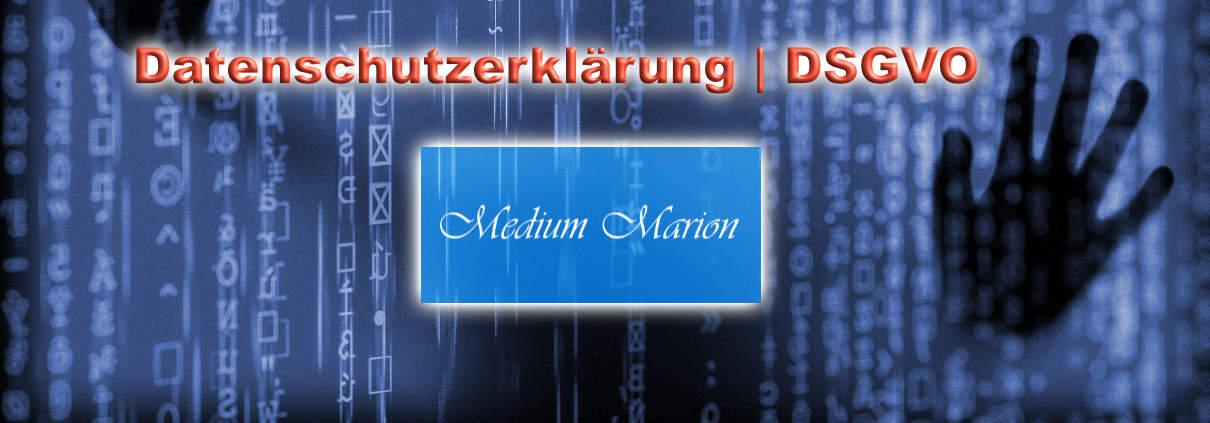 DSGVO, Datenschutz Medium Marion