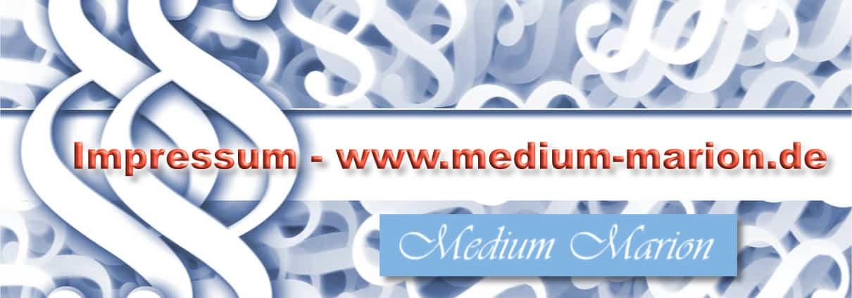 Impressum Medium Marion